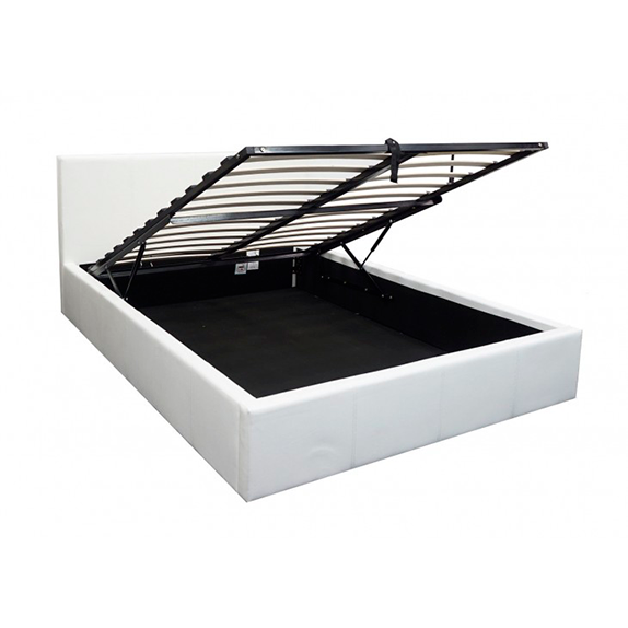 White-Gas-lift-bed