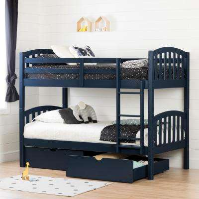 Bed Assembly navy-blue-south-shore-bunk-loft-beds