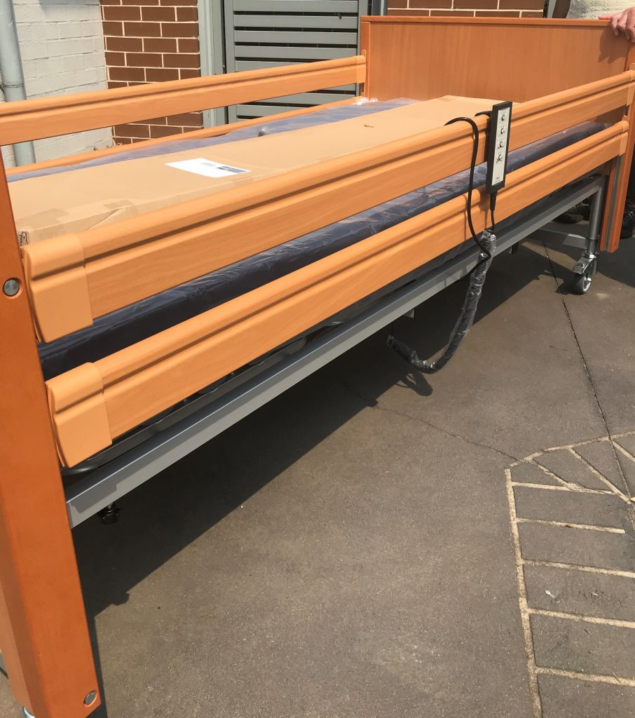 Electric Mobility Bed Delivery